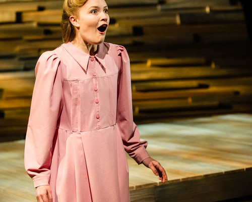 ERICA ANDERSON IN GRACIE BY JOAN MACLEOD, DIRECTED BY ERIC COATES